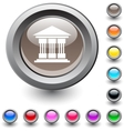 Exchange round button vector image vector image