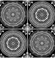 Graphic Seamless Pattern Of Mandala Ornaments vector image
