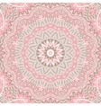 round ornamental lace background vector image vector image