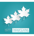 Thanksgiving design vector image vector image