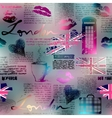 The collage in London style vector image vector image
