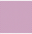 tile pattern with white polka dots on violet pink vector image vector image