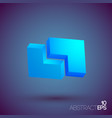business geometric template vector image