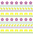 Easter seamless multicolor pattern vector image vector image