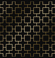 geometric decorative pattern - seamless vector image vector image