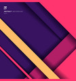 abstract background geometric stripes vibrant vector image vector image