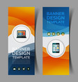 abstract banners set5 vector image