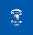an ancient greek column