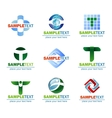 Design Elements for logo vector image vector image