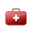 medicine chest First aid poster vector image