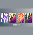 minimal gradient design for flyer poster vector image vector image
