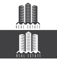 real estate commercial property design template vector image