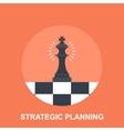 Strategic Planing vector image