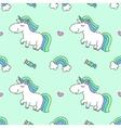 unicorns and rainbows vector image