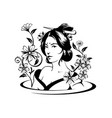 asian woman art