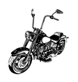 Chopper customized motorcycle