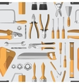 Construction tools pattern vector image