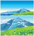 landscape 2 vector image vector image