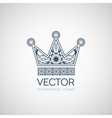 Ornamental Crown vector image vector image
