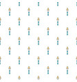 Pipette pattern seamless vector image