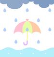 Rainy Cloudy vector image vector image