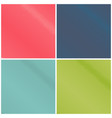 set of colorful pop art backgrounds vector image vector image