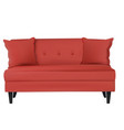 sofa furniture isolated on white background vector image vector image