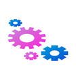 team wheel icon isometric style vector image vector image