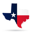 texas flag vector image