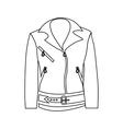 Women jacket icon outline style