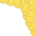 Abstract Border with Sliced Lemons vector image vector image
