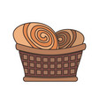 bakery products desgin vector image vector image