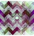 Mandala symbol seamless pattern vector image vector image