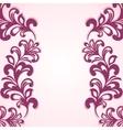 Ornamental background vector image vector image