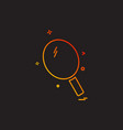 table icon design vector image