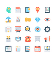 Banking and Finance Icons 3 vector image vector image