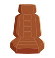 colored car seat vector image vector image