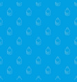 ethanol in bottle pattern seamless blue vector image vector image