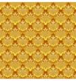 golden pattern seamless or vintage background vector image