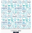 logistic business wallpaper delivery vector image vector image