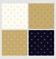 set seamless minimalistic stylish patterns vector image