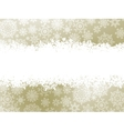 Snowflake christmas elegant background EPS 8 vector image vector image