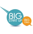 Big start up vector image