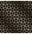 geometric stylish art deco pattern vector image vector image