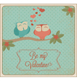 valentines card04 vector image