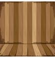 background in wooden shape floor vector image