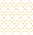 Abstract textile golden suns geometric seamless vector image vector image