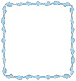 frame consists clouds vector image vector image