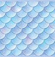 glitter fish scales seamless pattern mermaid tail vector image vector image