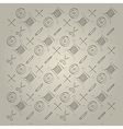 Gray background for handmade vector image